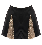 Harlequin Sequin Shorts