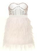 Ostrich Feather Frock