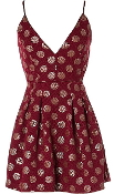 Burgundy Bliss Dress