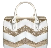 Sequin Chevron Bag