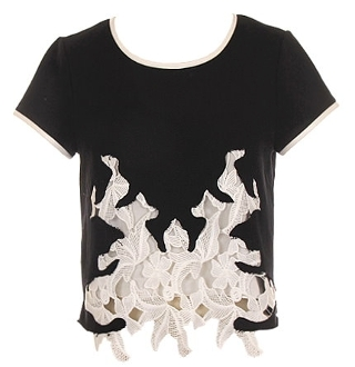 Lace Invasion Top