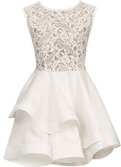 Lace Meringue Dress