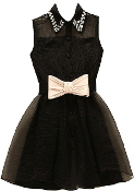 Bow Billionaire Dress