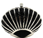 Shiny Seashell Clutch